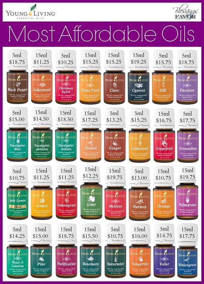 Oils Under 20 YL Oils Pinterest Oil Essentials And