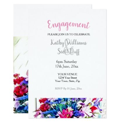 The 25+ best Engagement invitation template ideas on Pinterest - engagement invitation template