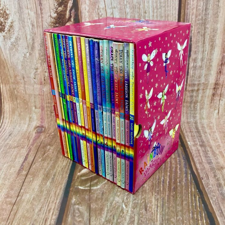 Rainbow Magic Book Box Set Complete Daisy Meadows Orchard Books 1-21 Outstanding