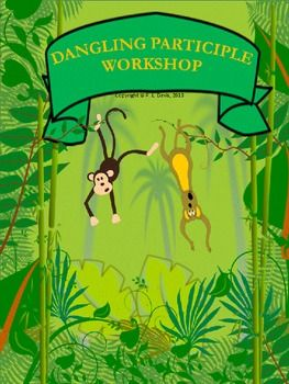 $2.75 Grades 4-7  Looking for a way to introduce dangling participles? This 10-page  workshop will help your students to recognize and understand dangling participles. It discusses verbs, participles, present participles, adjective form of words, modifying clauses and subjects. It shows the students how to identify a dangling participle and how to correct and re-write the sentence. Pin now, view later!!!!