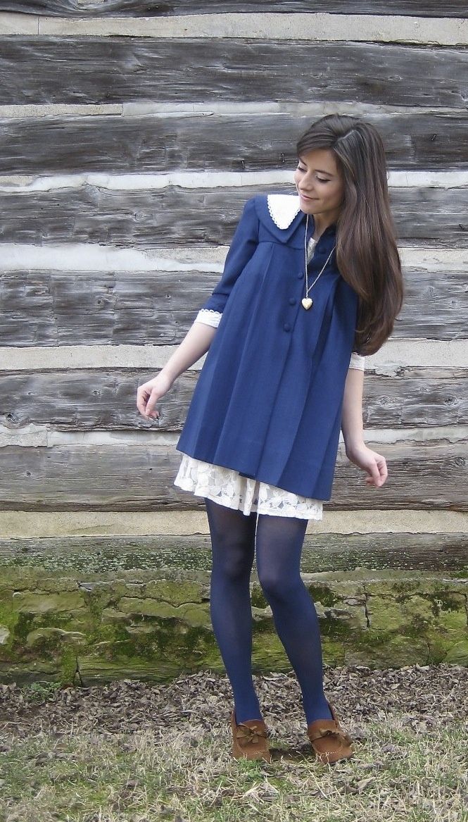 Yes please! gorgeous navy coat: Style, Navy Coat, Gorgeous Navy, Products, Coats