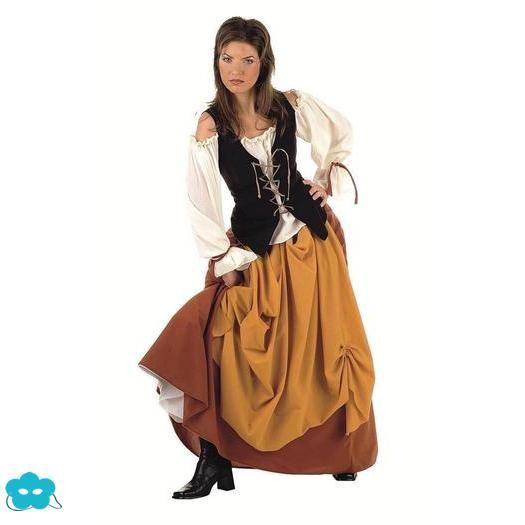 ../Disfraz de campesina medieval para mujer