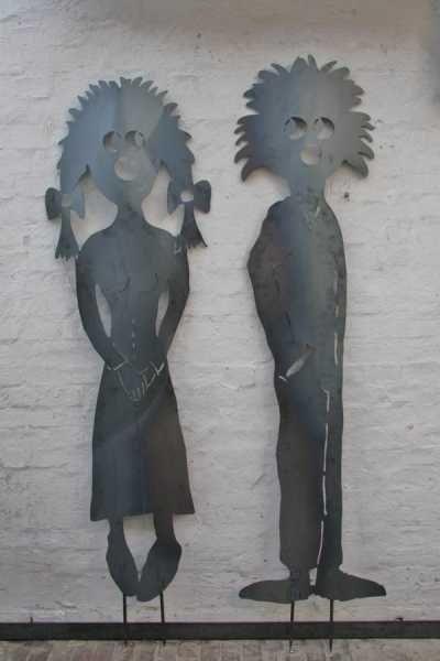 30 best images about metal sculptures metallskulpturen for Gartenskulpturen metall