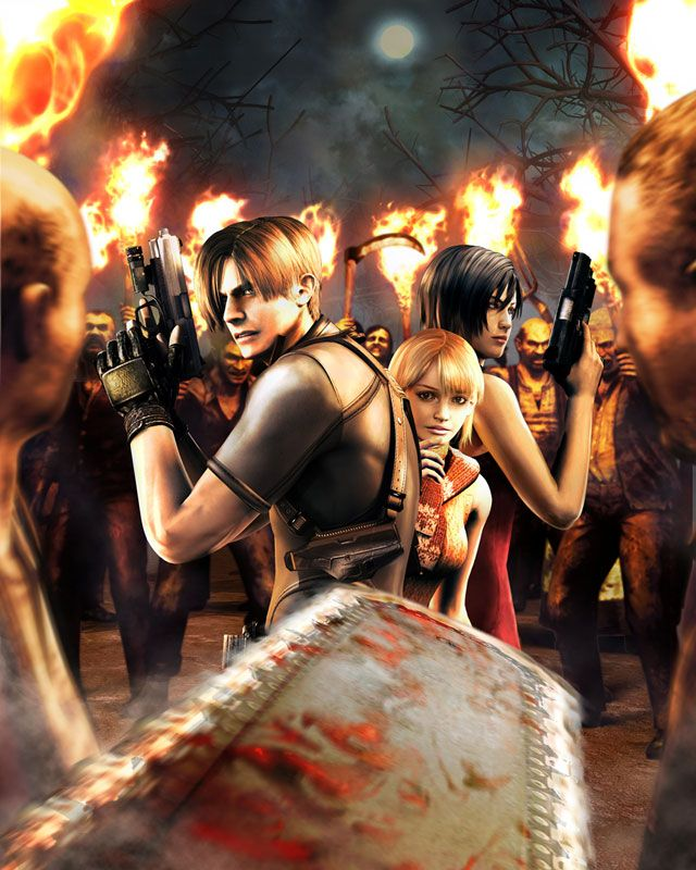 Video Game Art - Resident Evil 4 promo artwork