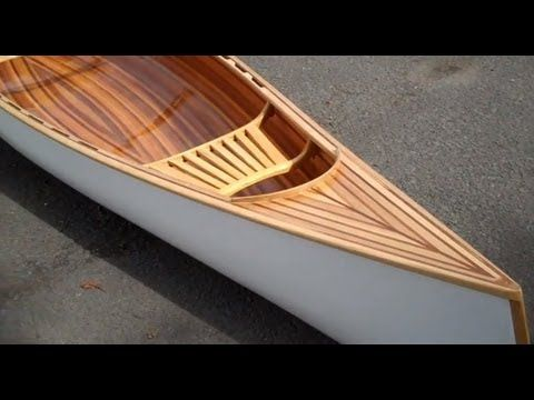 Ass building strip canoe without staples beautiful and