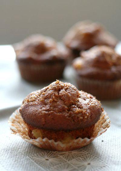 Whole Wheat Apple Cinnamon Muffins | Must.Eat.Now | Pinterest