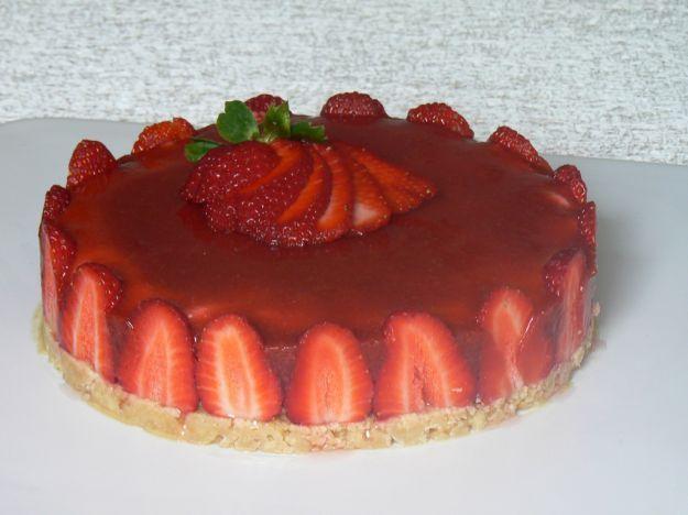 Ricetta Cheesecake alle fragole senza zucchero | Ricette di ButtaLaPasta