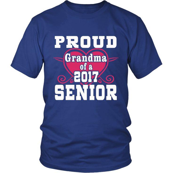 Proud Grandma of a Senior