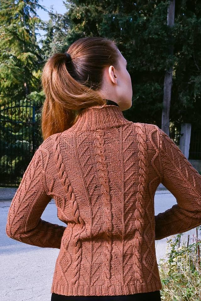 cotton aran knit