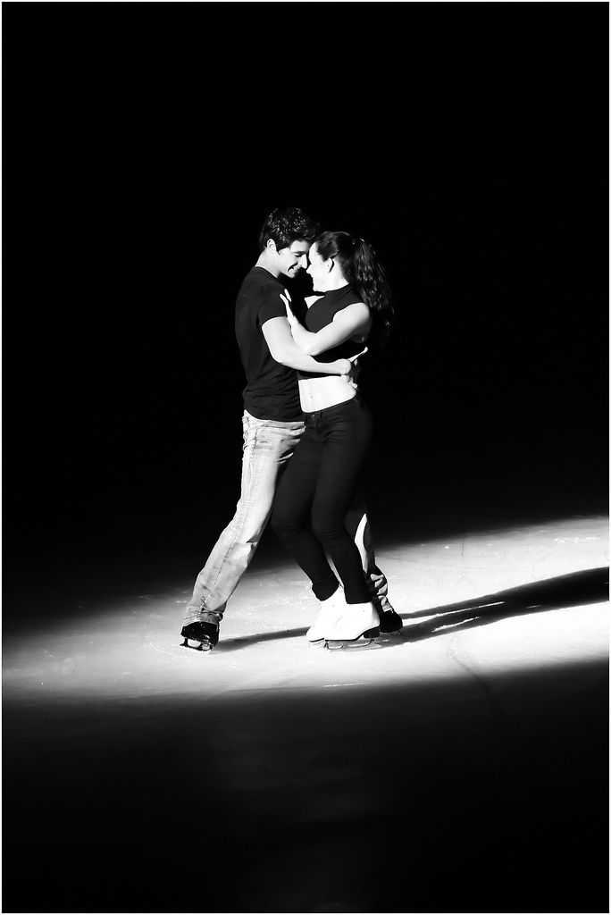 Tessa Virtue and Scott Moir. I can never figure out if these guys are in love or not.