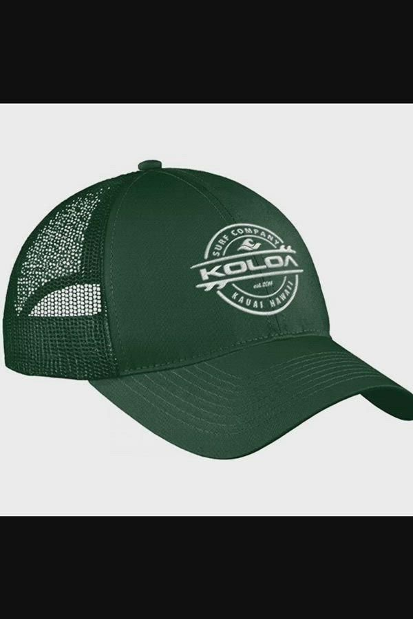 19 65 Old School Curved Bill Mesh Snapback Hats Forest With White Embroidered Logo Ci17ylx Video In 2021 Snapback Hats Embroidered Logo Mens Hats Fashion