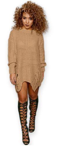 Women Pullovers Dress Fashion O neck Long Sleeve Winter Vestido Casual Sweater Dresses