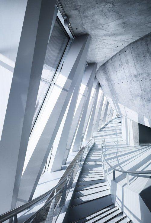 #Mercedes Benz Museum #UN Studio #Interiors