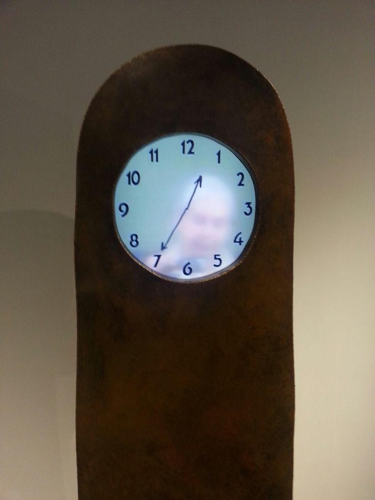 Maarten Baas - detail of grandfather clock, 2013