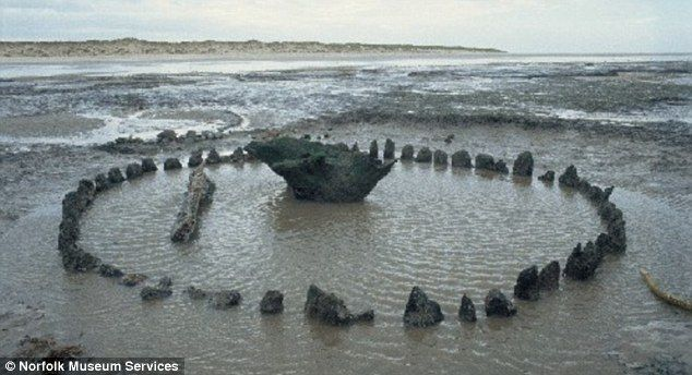 The Holme timber circle discovered in 1998 was dubbed Seahenge (pictured) after Stonehenge in Wiltshire. Its discovery was heralded as one o...