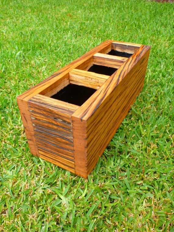 how to build a landscape timber planter box