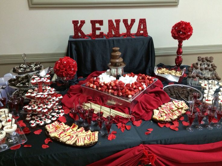 Blueberry Cake Recipe Kenya: Red Desert Table , Quinceañera