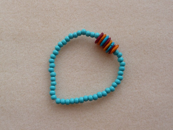 At the Circus Bracelet by ColourClub on Etsy, £5.00