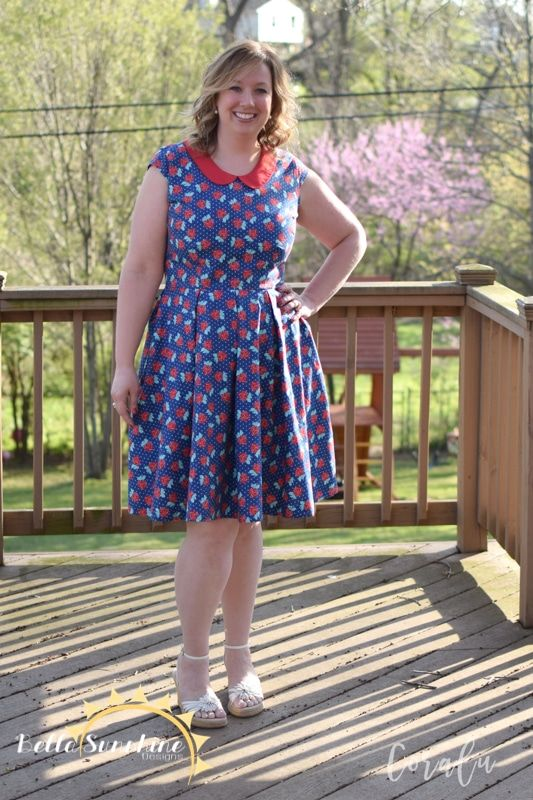 Alice Pleated Dress - Ladies - Bella Sunshine Designs
