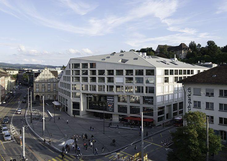 BDE Architekten GmbH – ARCHHÖFE WINTERTHUR 2003–2013