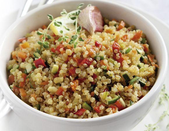 Veja receita de Quinoa à grega