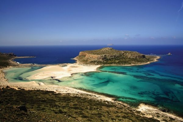 Balos...still untouched, accessible only via boat or via walk paths