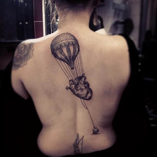 365 best hot air balloon tattoos images on pinterest for Modest mouse tattoo