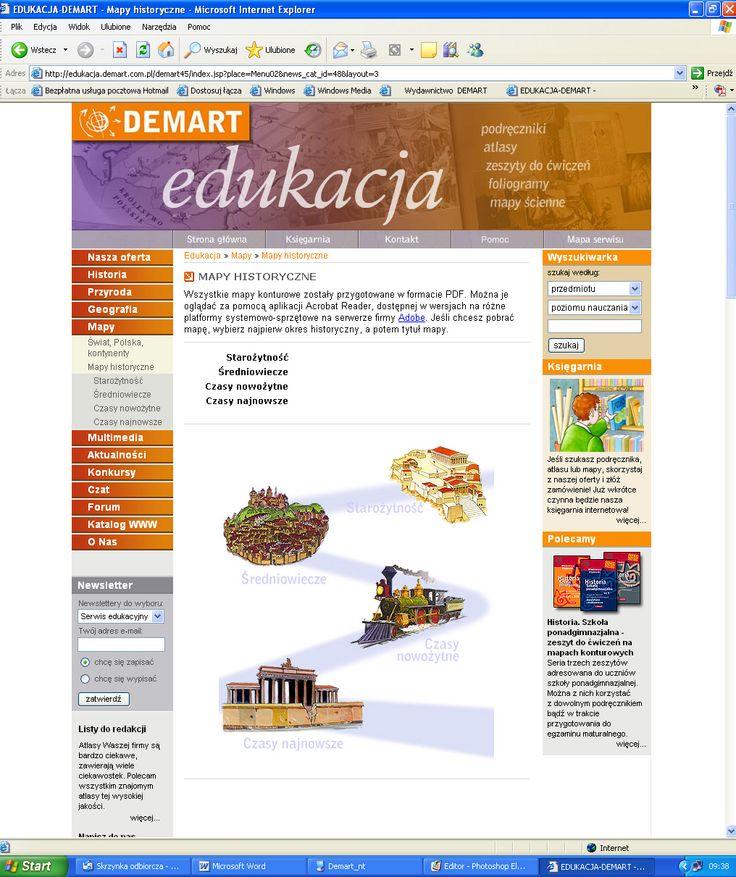 Mapy historyczne - strona główna.