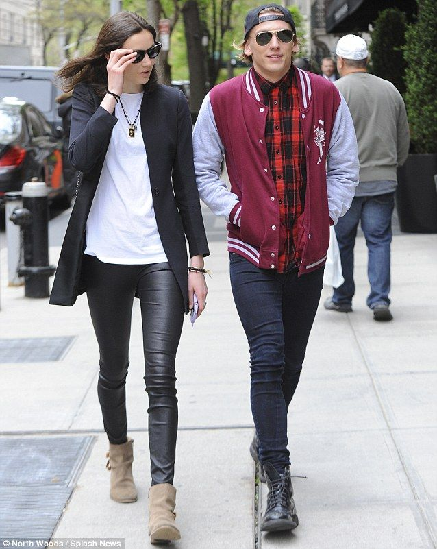 Jamie Campbell Bower in plaid. Click through to see Wantering's top hipster menswear style!