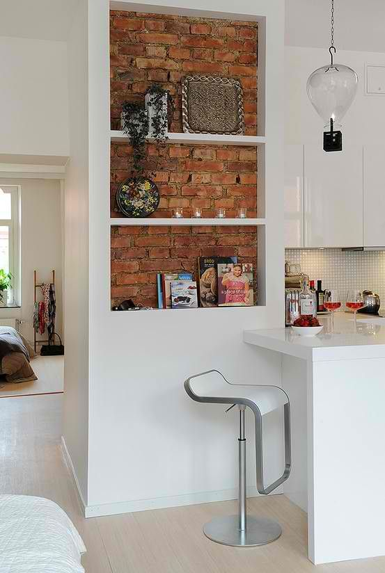 Best 25 Brick Wall Kitchen Ideas On Pinterest Exposed