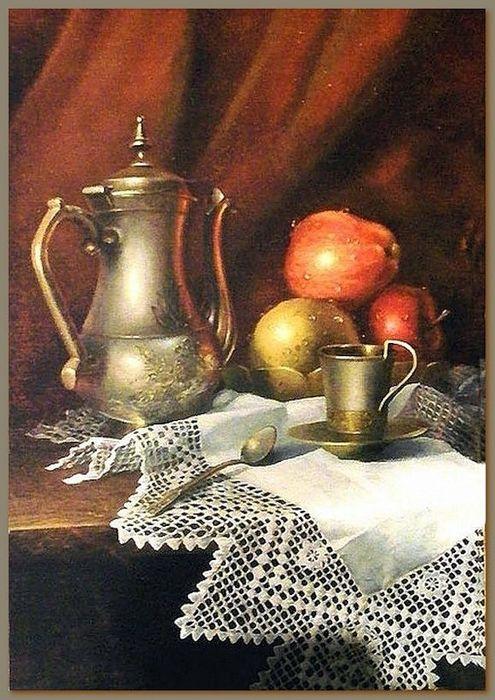 Pizzo dipinto nel dipinto, decoupage, pittura. Discussione sulla LiveInternet - Servizio russo diario online