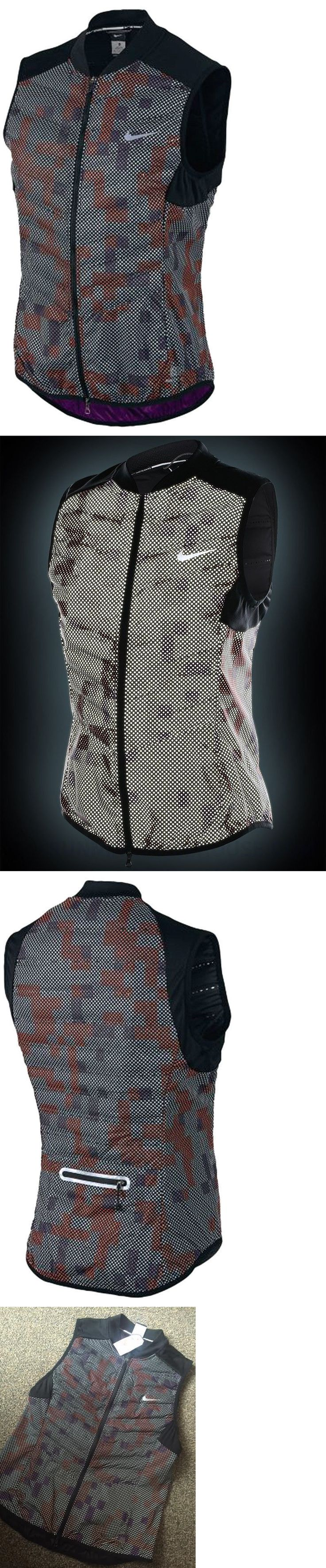 Jackets and Vests 59285: Nike Aeroloft Flash Running Vest - Women S Large $280.00 ~ 689260 011 Reflective -> BUY IT NOW ONLY: $72.95 on eBay!