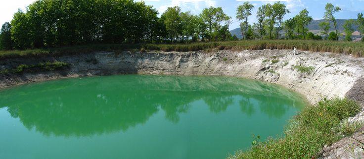 Estany gran de Basturs, la tardor del 2005, amb el nivell freàtic molt baix #estanys càrstics #basturs #pallarsjussa