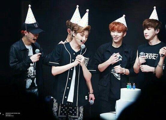 Jooheon, I.M, Kihyun, Wonho