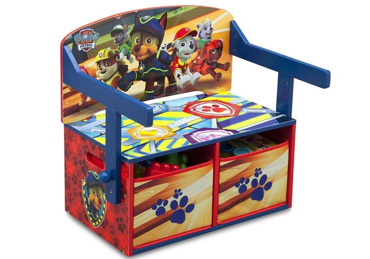 TB83332PW - Banco infantil 3 en 1 Patrulla Canina (Paw Patrol), IndalChess.com Tienda de juguetes online y juegos de jardin
