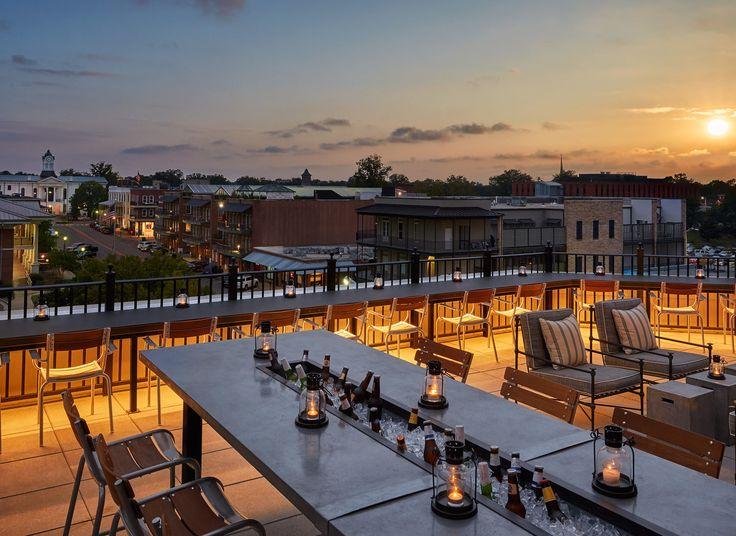 Graduate Oxford Oxford, Mississippi sky evening plaza cityscape dusk Resort Sunset City dock orange