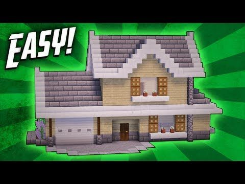 935 best minecraft images on pinterest minecraft buildings minecraft how to build a suburban house tutorial youtube ccuart Images