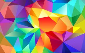 COLOR, triangle, light, line, pattern, volume