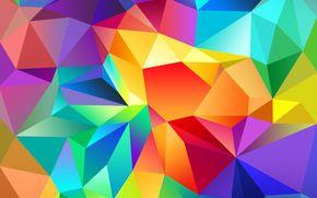 COLOR, triangle, light, line, pattern, volume