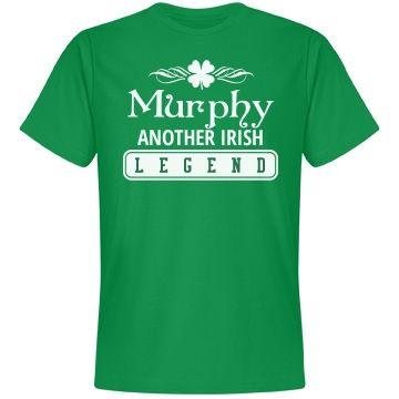 Murphy another Irish legend