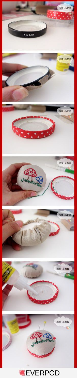 Cute pin cushion step by step