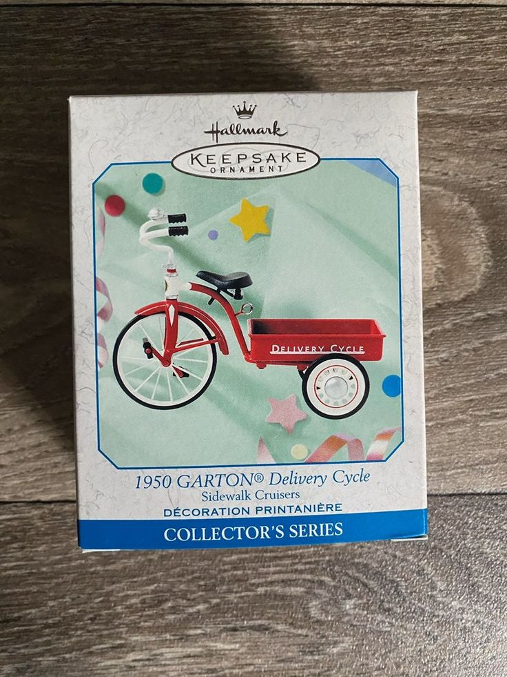 Delivery cycle Vintage New in box in 2020 Hallmark