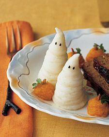 Spooky Mashed Potatos!