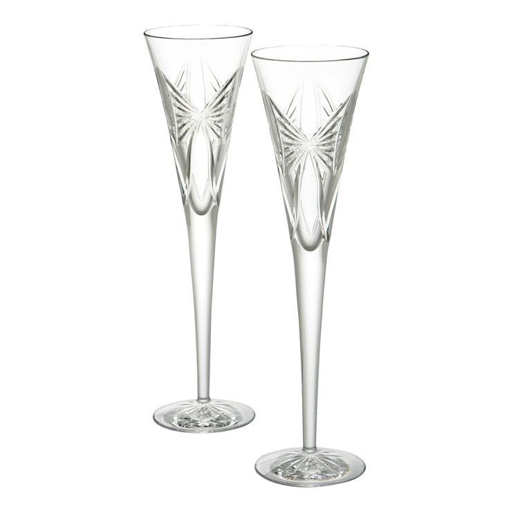 Waterford Crystal Anniversary Flute Pair.  Available on http://www.standun.com/anniversary-flute-pair.html