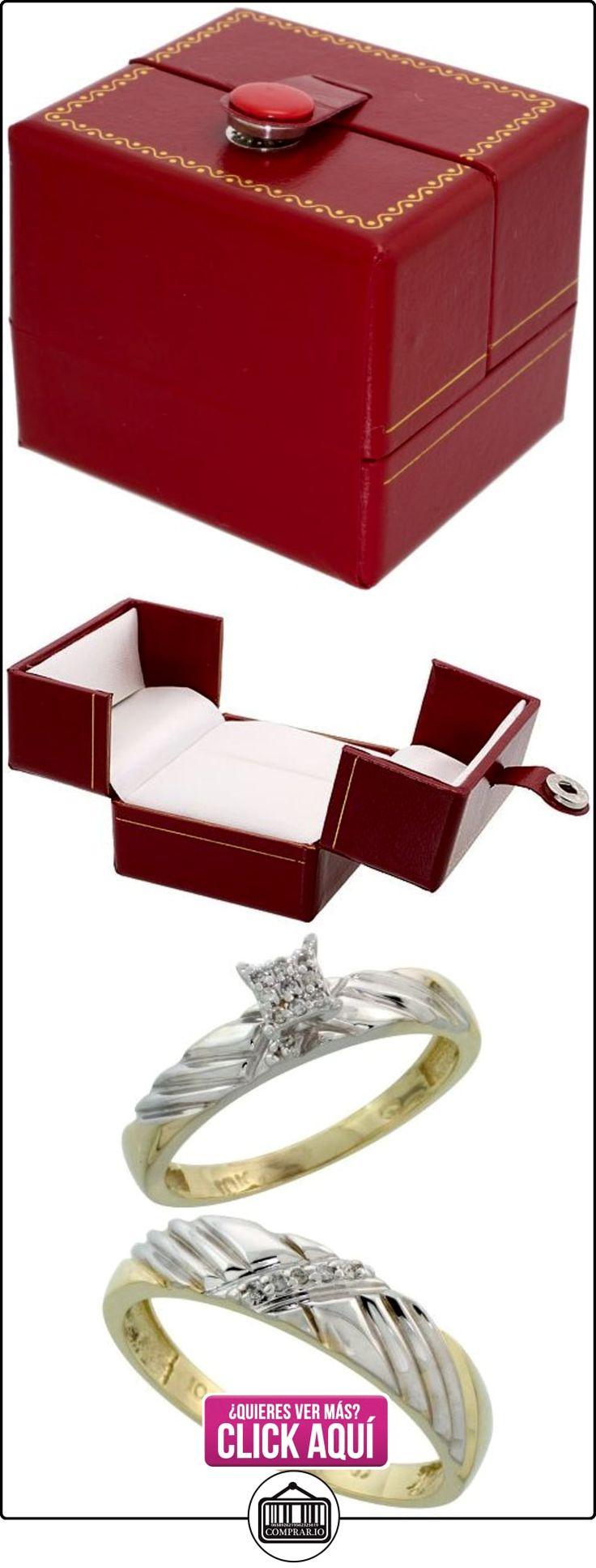 Revoni - Anillo de compromiso de oro amarillo  ✿ Joyas para hombres especiales - lujo ✿ ▬► Ver oferta: http://comprar.io/goto/B005M3EF9W