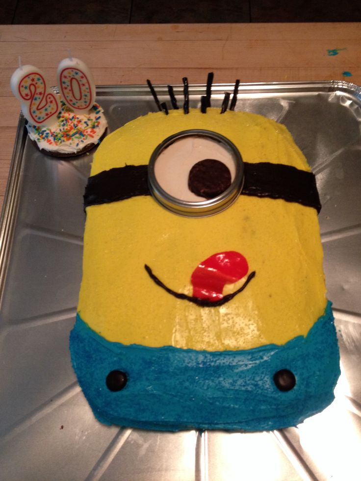 how to make minion goggles for cake