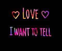 大好きです。 伝えたいです。