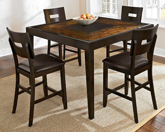 Cyprus II Dining Room Collection   Value City Furniture Counter Height Table  $499.99 #