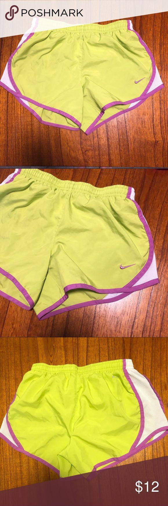 Nike Shorts Girls Medium Nike Shorts. Drawstring waist and built in underwear   …