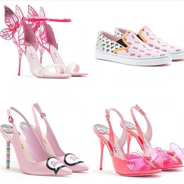 Sophia Webster lanza su colección de zapatos inspirados en Barbie